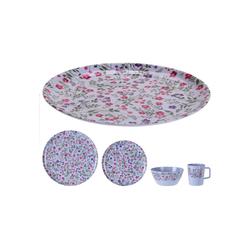 HTI-Living Frühstücks-Set Geschirrset 16tlg. Melamin (16-tlg), Melamin