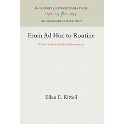 From Ad Hoc to Routine als Buch von Ellen E. Kittell