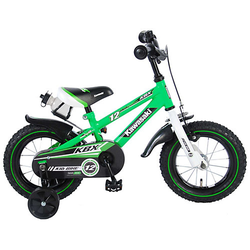 Kawasaki Kinderfahrrad - Jungen - 12 Zoll - Grün grün