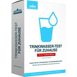 Ivario Trinkwasser-Test SCHADSTOFFANALYSE