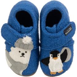 Living Kitzbühel Baby Hausschuhe Eisbär & Pinguin für Jungen Hausschuh 27