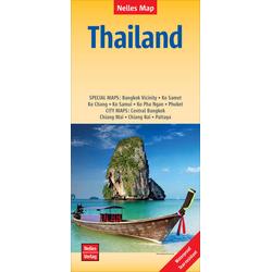Nelles Map Thailand 1:1 500 000