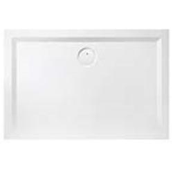 Hoesch Muna Mineralguss-Duschwanne 4166xA010 110 x 70 x 3 cm, weiß, Material Solique