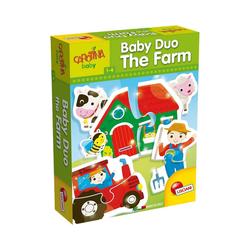 Lisciani Puzzle Baby Duo - Bauernhof, Puzzleteile