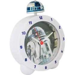 Joy Toy Kinderwecker R2-D2 Topper Kinderwecker, 27593 mit R2-D2 Sound und leuchtender Figur