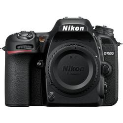 Nikon D7500 Spiegelreflexkamera (20,9 MP, WLAN (Wi-Fi), Gesichtserkennung)
