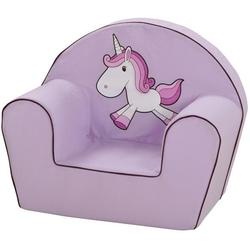 Knorrtoys® Sessel UMA. Das Einhorn, lila