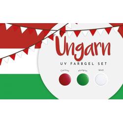 UV Farbgel Set - Ungarn 5ml