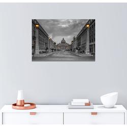 Posterlounge Wandbild, Rom Straße Petersplatz 90 cm x 60 cm