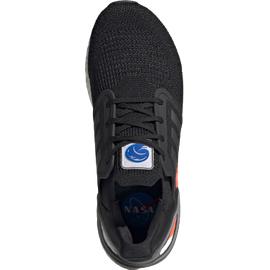 adidas Ultraboost 20 M core black/iron metallic/football blue 44 2/3