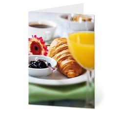 LUMA Grußkarte Frühstück DIN B6