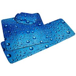 Nackenpolster »Bubble«, Badewannenkissen Nackenkissen, 877895-0 blau 22 cm blau