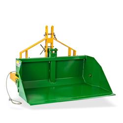 Heckschaufel Kippmulde Kippschaufel Heckkipper DHS 120 M für Traktor kippbar