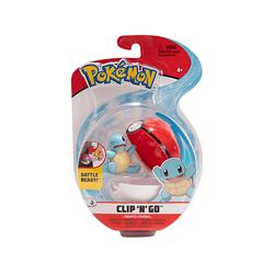 Pokémon - Clip 'n Go Schiggy & Pokéball
