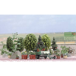 Busch 1211 H0 Blumen- und Pflanzkübel-Set