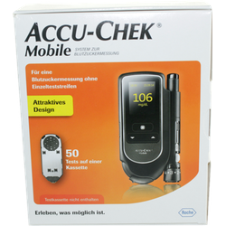 ACCU CHEK Mobile Set mg/dl III 1 St