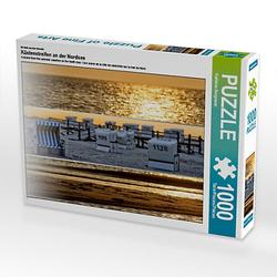 Küstenstreifen an der Nordsee Lege-Größe 64 x 48 cm Foto-Puzzle Bild von Kathleen Bergmann Puzzle