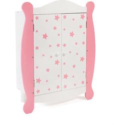 Puppen-Kleiderschrank pink