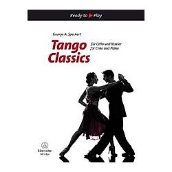 Tango Classics für Cello und Klavier - Buch
