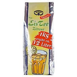 Krüger Eistee Zitrone Getränkepulver für 12 Liter Getränk 1000g