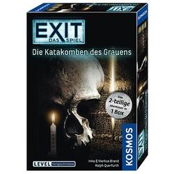 KOSMOS EXIT - Das Spiel: Die Katakomben des Grauens Escape-Room Spiel