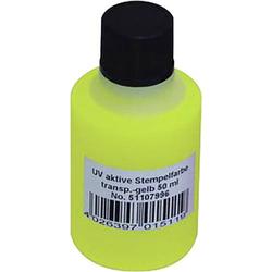 UV-Stempelfarbe Gelb 50ml