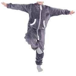 LIL'FINCH Jumpsuit LIL'Finch Kinder Jumpsuit LIL'Teddy F2004 Jungen Mädchen Overall Teddy Fleece 110-116