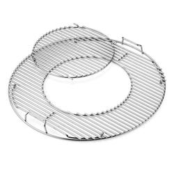 Grillrost-Einsatz - Gourmet BBQ System für Holzkohlegrills mit 57 cm