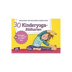 30 Kinderyoga-Bildkarten