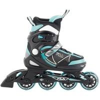 Fila Skates Inlineskate J-One Sky black/mint Größe S 28-32