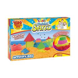 CRAZE Spielsand Magic Sand - Activity Box