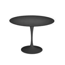 Esstisch Saarinen Tulip Knoll International schwarz, Designer Eero Saarinen, 73x0x0 cm