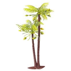 HobbyFun Dekofigur Palme 2-fach, 10 cm - 13 cm grün