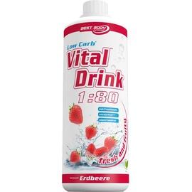 Best Body Low Carb Vital Drink Erdbeere 1000 ml