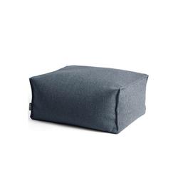 mokebo Pouf Der Ruhepouf, Indoor Sitzkissen, Sitzhocker & Sitzpouf, in rund o. eckig & vielen Farben blau 65 cm x 35 cm x 50 cm