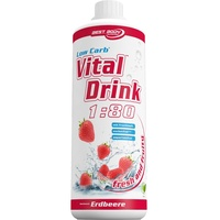 Best Body Low Carb Vital Drink Erdbeere 1000 ml