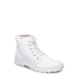 Palladium Pampa Hi Orginale Hohe Sneaker Weiß PALLADIUM Weiß 40,41,43,45