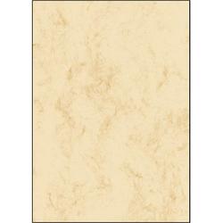 SIGEL Briefpapier Marmor beige DIN A4 200 g/qm 50 Blatt
