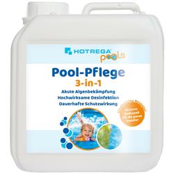 HOTREGA Pool-Pflege 3-in-1 Algenbekämpfung 2 Liter