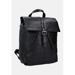 Gusti Leder Damen Cityrucksack Gusti Leder 'Chistopher F.' Rucksack schwarz, Größe One Size, 4853055