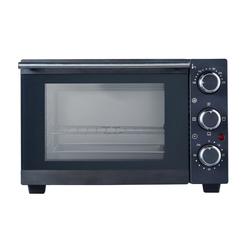 DESKI Minibackofen, Oberhitze, Unterhitze, Mini Backofen 15L Miniofen Ofen Oberhitze Unterhitze Timer Thermostat Pizzaofen