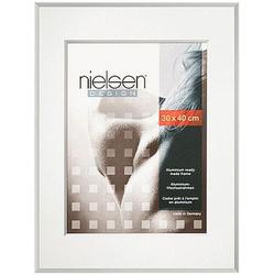 Nielsen Pixel Alurahmen 13x18 weiß