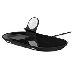 mophie 3-in-1 Wireless Charging Pad Schwarz