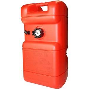 ARBO-INOX - Benzintank - Kunststoff - mit oder ohne Füllstandsanzeige - Ersatzdeckel (Tank 22Liter mit Anzeige)