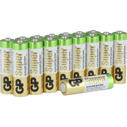 GP Batteries Super Mignon (AA)-Batterie Alkali-Mangan 1.5V 16St.