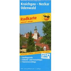 Kraichgau - Neckar - Odenwald 1:100 000