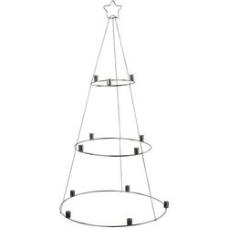 Kerzenhalter Weihnachtsbaum, zum Hängen