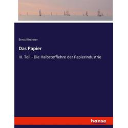 Das Papier als Buch von Ernst Kirchner