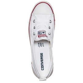 Converse Chuck Taylor All Star Ballet Lace Ox white/ white-red, 38.5