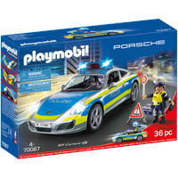 Playmobil City Action Porsche 911 Carrera 4S Polizei 70067